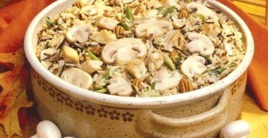 Плов с грибами пошаговый рецепт