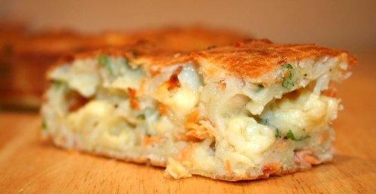 Рецепт пирога с горбушей и картошкой из дрожжевого теста рецепт