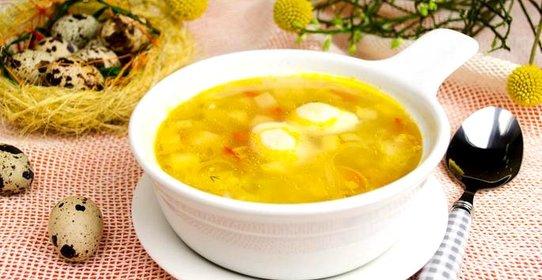 суп сырым яйцом рецепт фото
