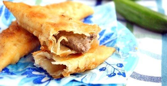 Чебуреки крымские рецепт с фото пошаговый хрустящие