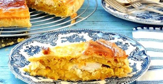 Пироги с рыбной консервойы с фото