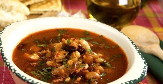 фасолевый суп рецепт классический пошагово с фото