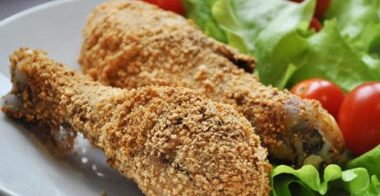 Куриные голени в панировке рецепт с фото