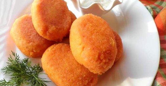 морковные котлеты рецепт с фото без манки