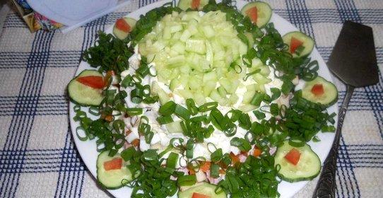 Рецепты вкусных слоеных салатов рецепты с фото