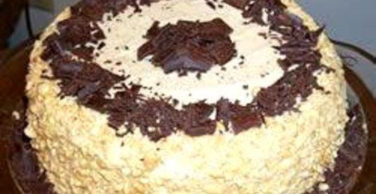 Фото шоколадных тортов с арахисом