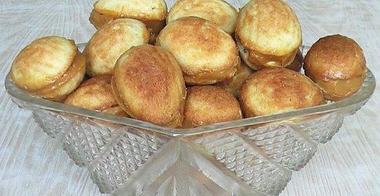 Орешки с сгущенкой рецепт с пошагово