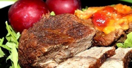 говядина со сливами рецепты с фото