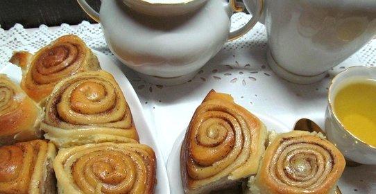 французские булочки синабон рецепт с фото