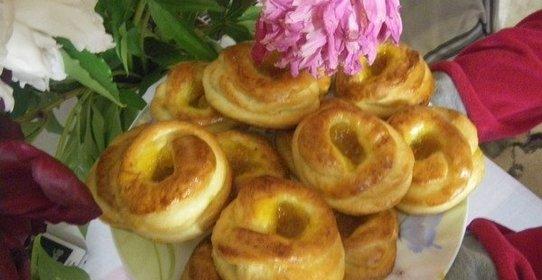 вкусные булочки с вареньем рецепт с фото