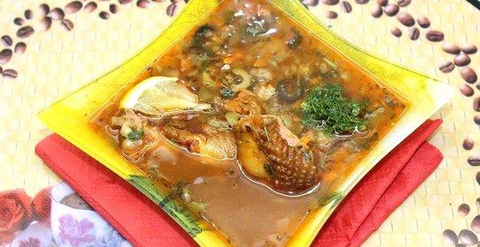 солянка с копченостями рецепт с фото пошаговый