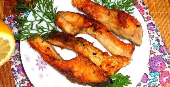 Рыба жареная пошаговый рецепт с фото