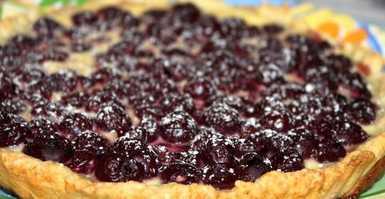 Рецепт пирога с ягодами с пошаговыми фото
