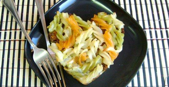 Блюдо из макарон и курицы простой рецепт
