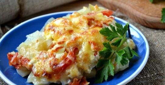 Картофель по французски пошаговый рецепт фото