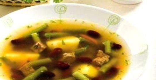 Суп с фасолью от юлии высоцкой