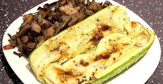 Запечь курицу и кабачки в духовке рецепты